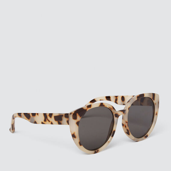 Oversized Cat Eye Sunglasses  MILKY TORT  hi-res