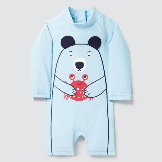 Novelty Bear Rashsuit  SKY  hi-res