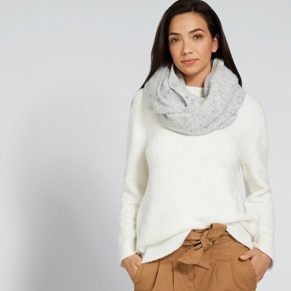 Fine Knit Snood  GREY  hi-res