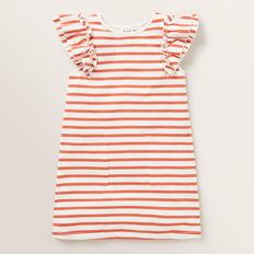 Stripe Pocket Dress  GINGER SPICE  hi-res