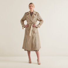 Lightweight Trench Coat  NEUTRAL BEIGE  hi-res