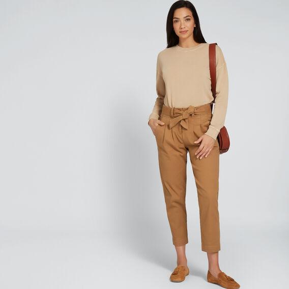 Paperbag Slim Pant  GINGERBREAD  hi-res