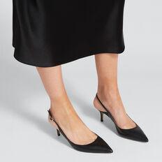 Grace Sling Back Heel  BLACK  hi-res