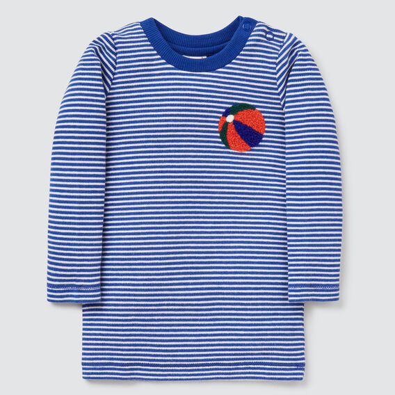 Stripe Ball Tee  DEEP COBALT  hi-res