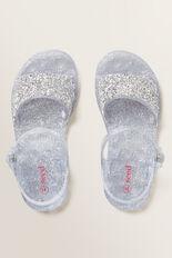 Gem Stone Jelly Sandal  SILVER  hi-res