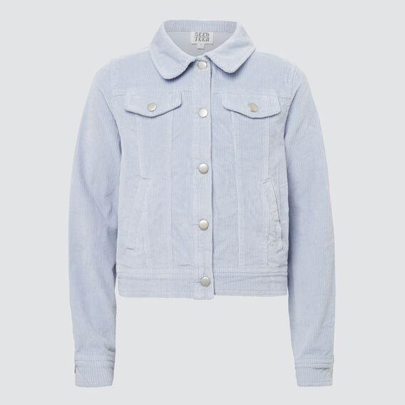 Cord Jacket  BABY BLUE  hi-res