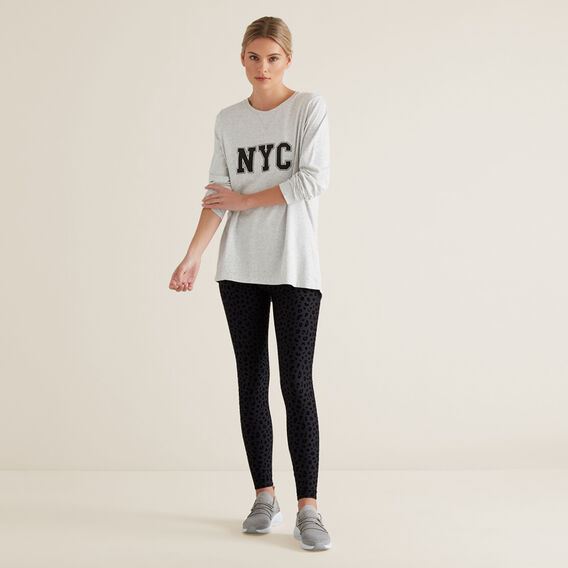 NYC Long Sleeve Tee  ICY MARLE  hi-res