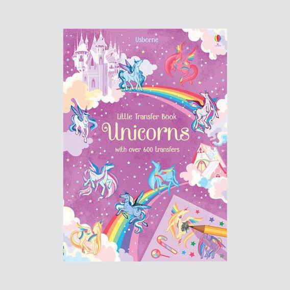 Little Unicorns Transfer Book  MULTI  hi-res