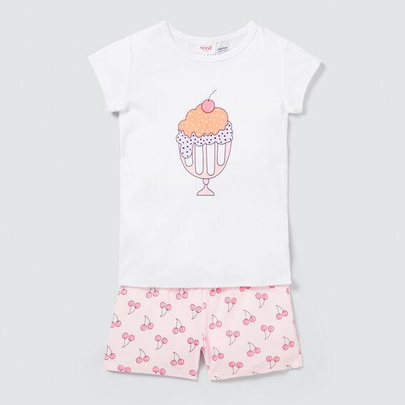 Ice Cream Pyjama Set  MULTI  hi-res