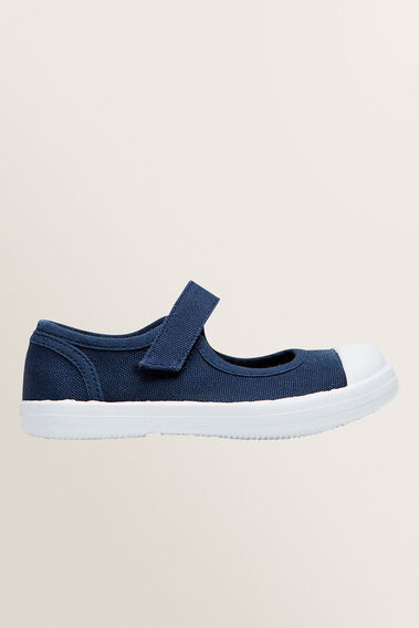 Toddler Canvas Mary Jane  NAVY  hi-res