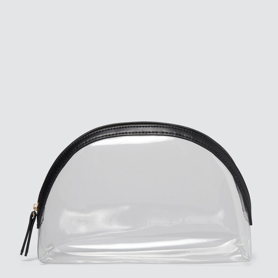Large Clear Cosmetic Case  CLEAR  hi-res