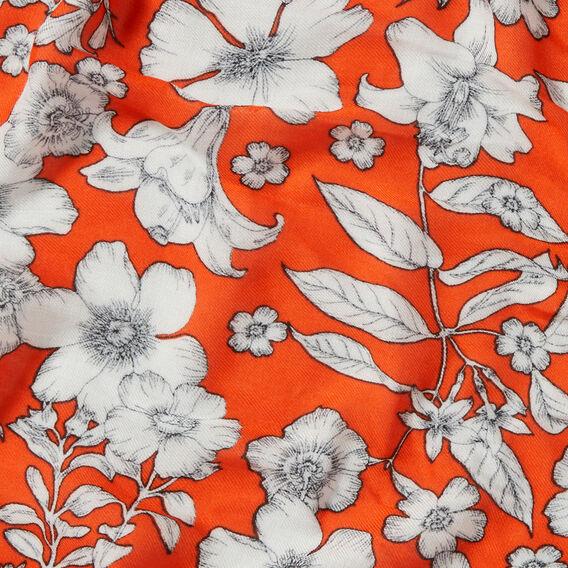 Botanical Floral Scarf  MULTI  hi-res