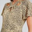 Animal Twist Dress  ANIMAL PRINT  hi-res