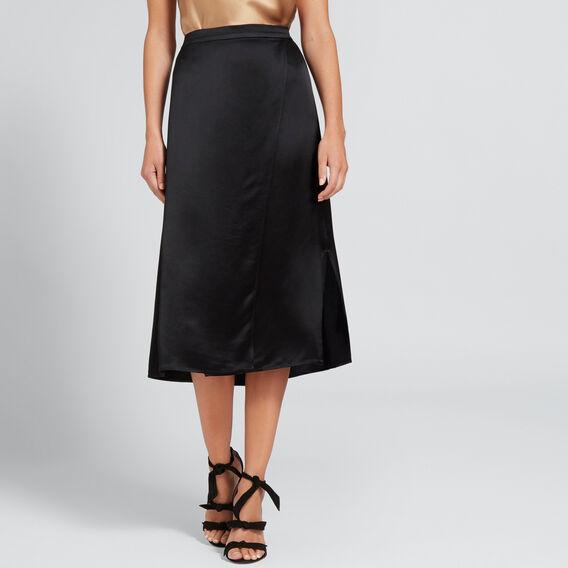 Wrap Skirt  BLACK  hi-res