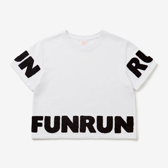 Fun Run Tee  SNOW WHITE  hi-res