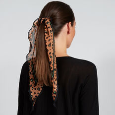 Diamond Neck Scarf  MULTI OCELOT  hi-res