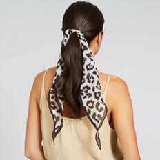 Diamond Neck Scarf  WASHED OLIVE  hi-res