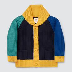 Colourblock Cardigan  MULTI  hi-res