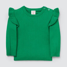 Rib Sweater  APPLE GREEN  hi-res