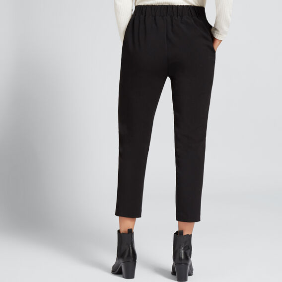 Stitch Front Seam Pant  BLACK  hi-res