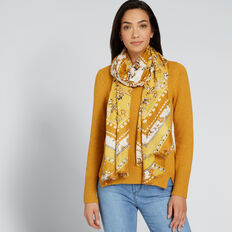 Diamond Floral Scarf  MULTI  hi-res