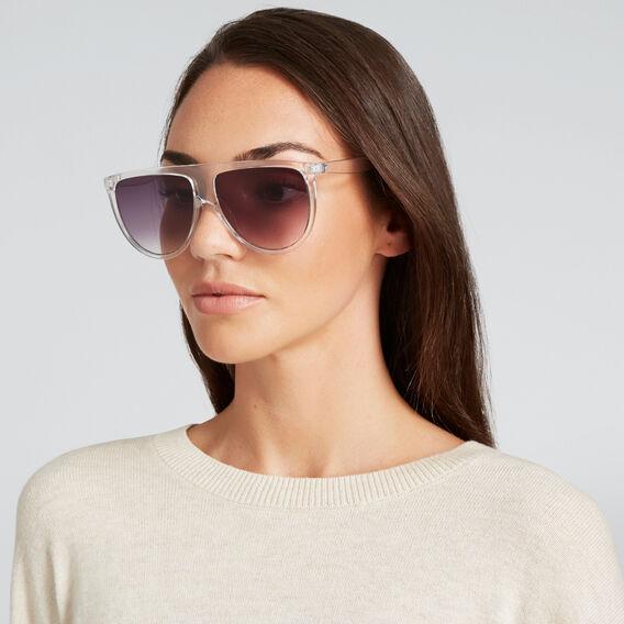 Nicola Flat Top Sunglasses  CLEAR  hi-res
