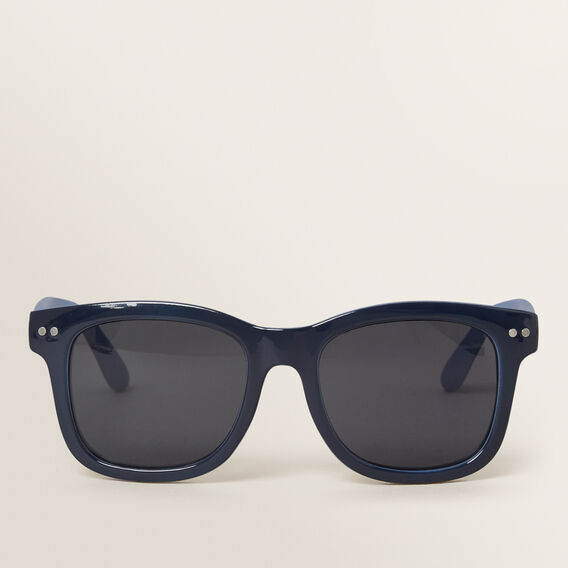 Colour Split Sunglasses  NAVY  hi-res