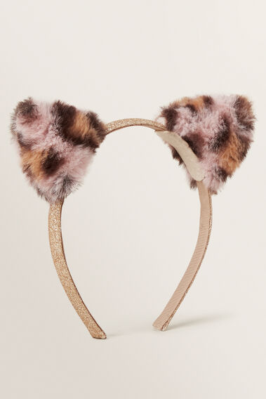 Ocelot Fur Ears Headband  OCELOT  hi-res