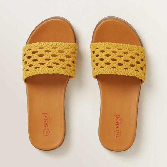 Woven Sandal  MUSTARD  hi-res