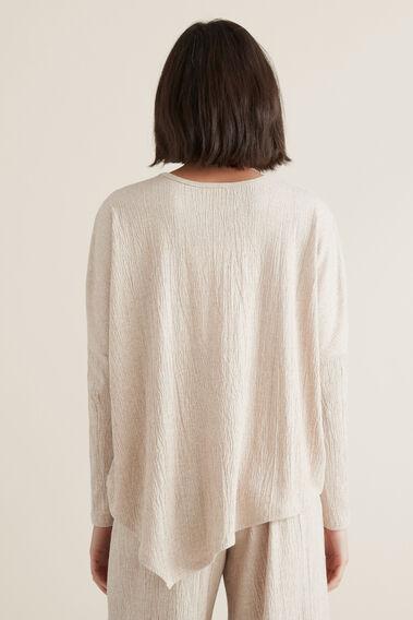 Asymmetrical Sweater  DESERT MARLE  hi-res