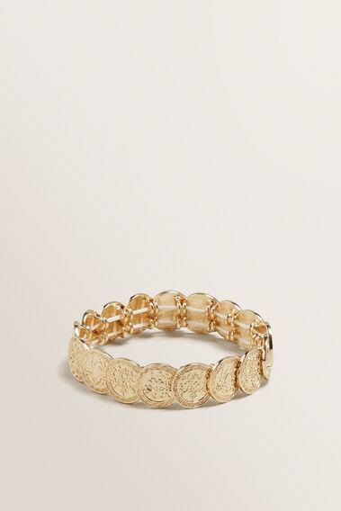 Stretch Coin Bracelet  GOLD  hi-res