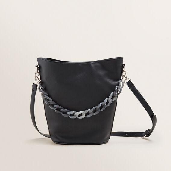 Tort Chain Bucket Bag  BLACK  hi-res