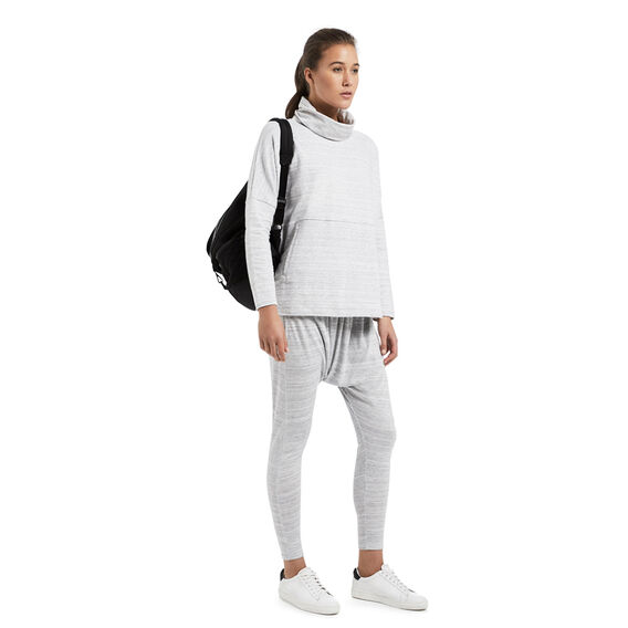 Space Dye Trackpant  LIGHT GREY MARLE  hi-res