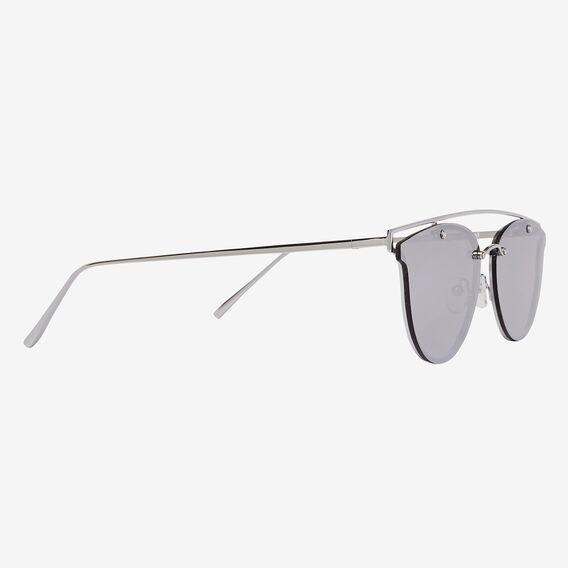 Olivia Top Bar Sunglasses  SILVER  hi-res