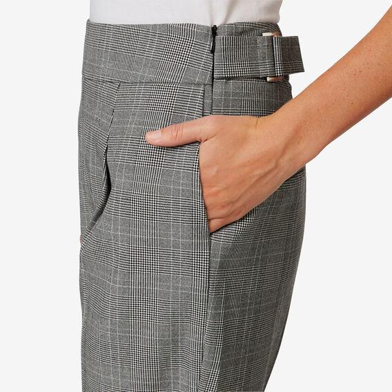 Buckle Detail Pant  CHECK  hi-res