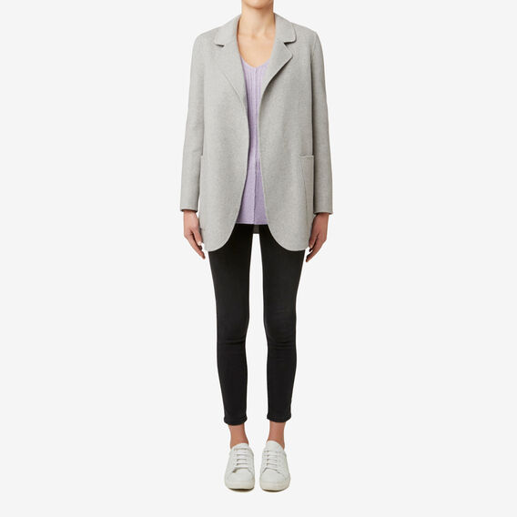 Robe Jacket  MID GREY MARLE  hi-res