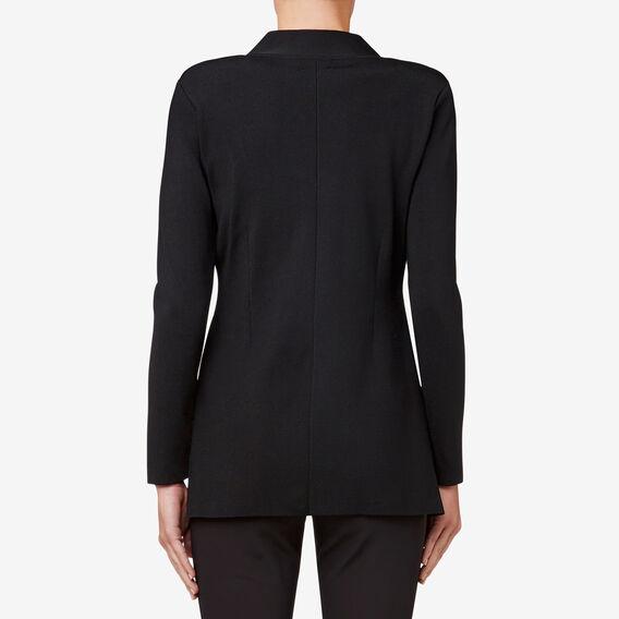 Wrap Jacket  BLACK  hi-res