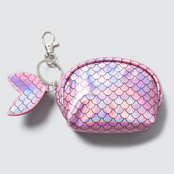 Mermaid Coin Purse  PINK  hi-res