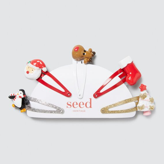 Christmas 5-Pack Snaps  MULTI  hi-res