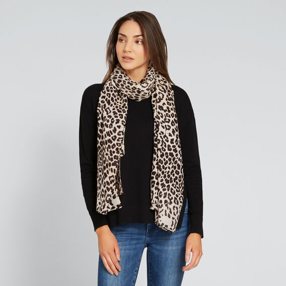 Ocelot Scarf  NATURAL  hi-res