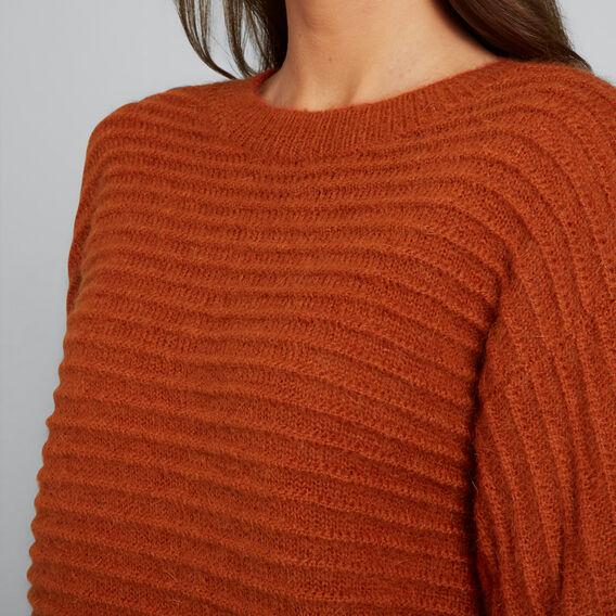 Luxe Mohair Blend Knit  BURNT TERRACOTTA  hi-res