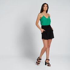 Lace Cami  PEACOCK GREEN  hi-res