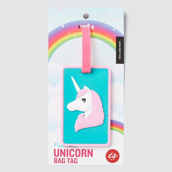 Unicorn Bag Tag  MULTI  hi-res