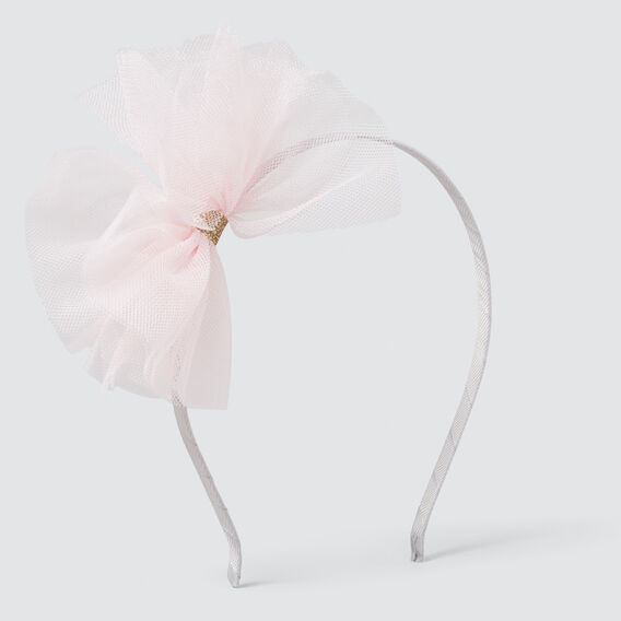 Tulle Bow Headband  ICE PINK  hi-res