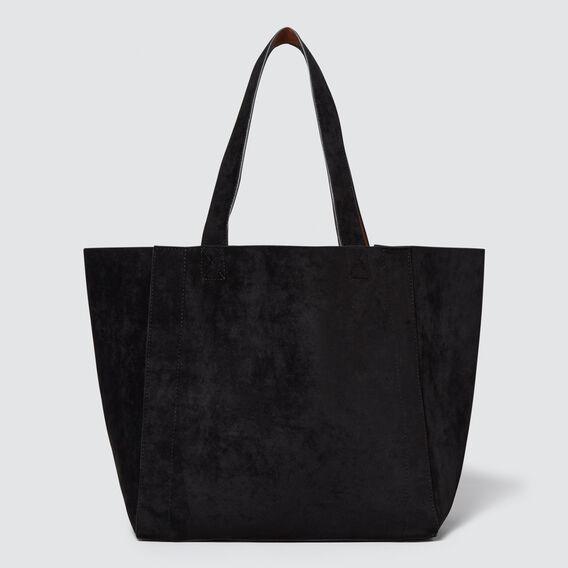 Reversible Tote  BLACK/TAN  hi-res