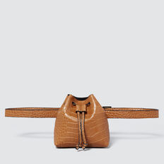 Mini Belt Bucket Bag  TAN CROC  hi-res