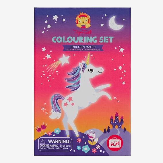 Unicorn Magic Colouring Set  MULTI  hi-res