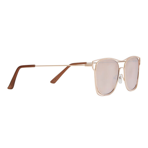 Fashion Metal Sunglasses  ROSE GOLD  hi-res