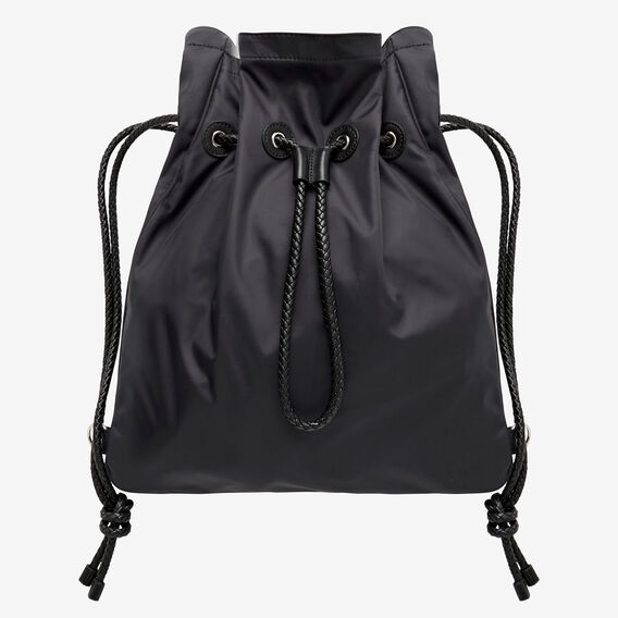 Sports Drawstring Bag  BLACK  hi-res