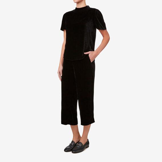 Velvet Pant  BLACK  hi-res